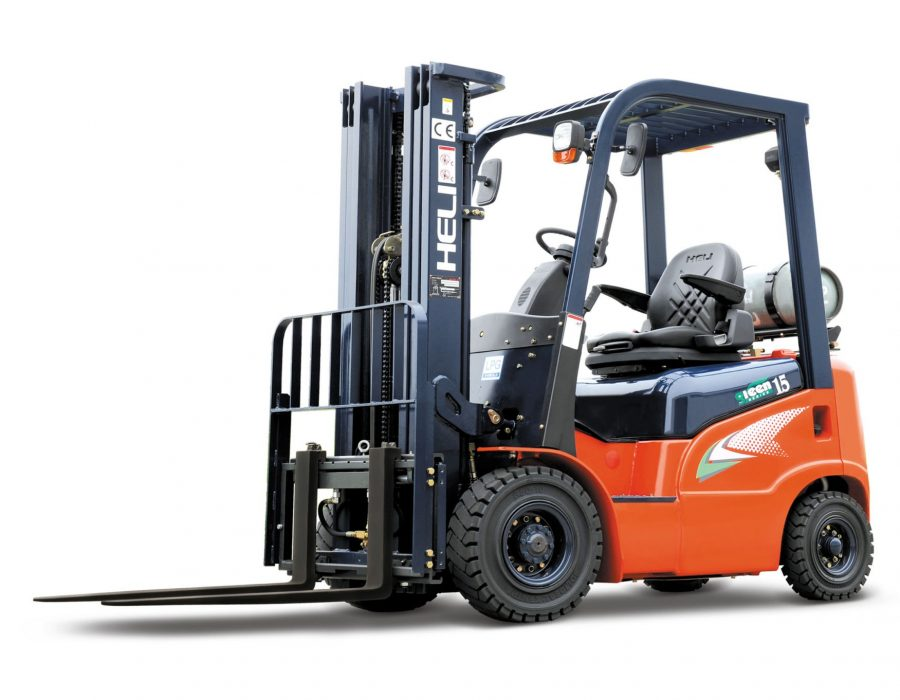G series IC 1.5t forklift with LPG tank NO2
